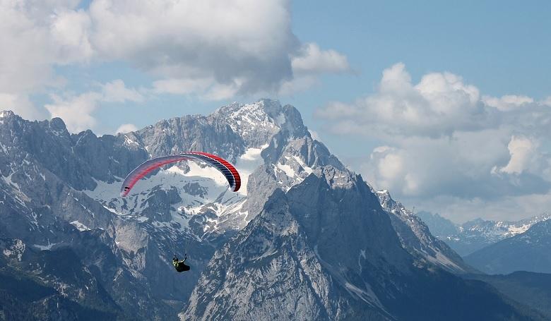 Garmisch Partenkirchen w Niemczech