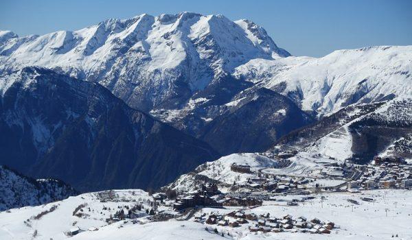 L'Alpe d'Huez na narty